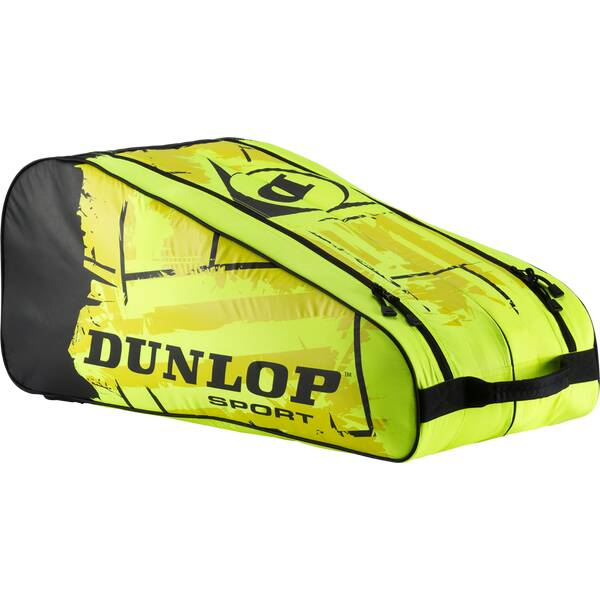 DUNLOP Tasche Revolution NT 10-Racket Bag Gelb
