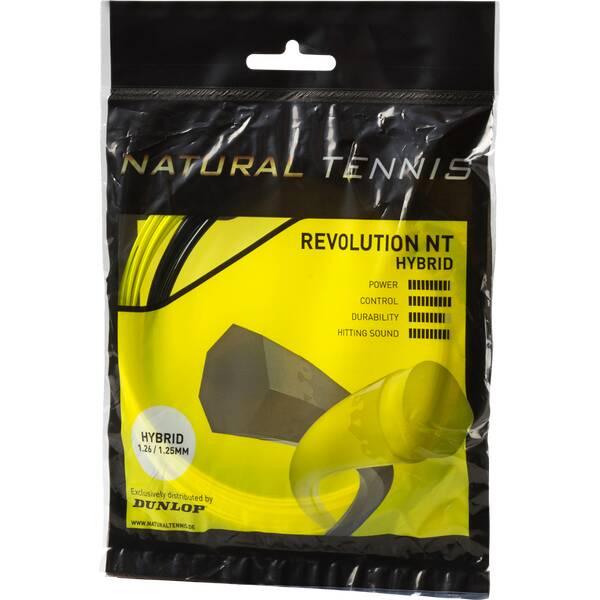 DUNLOP Tennis-Saite Revolution NT Hybrid Set 1,31