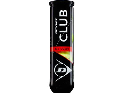 DUNLOP Tennisball DUNLOP CLUB AC Gelb