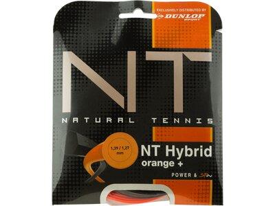 DUNLOP Tennissaiten-Set Revolution NT Hybrid Set 1,39/1,27 Schwarz