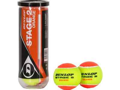 DUNLOP Ball D TB STAGE 2 ORG Orange
