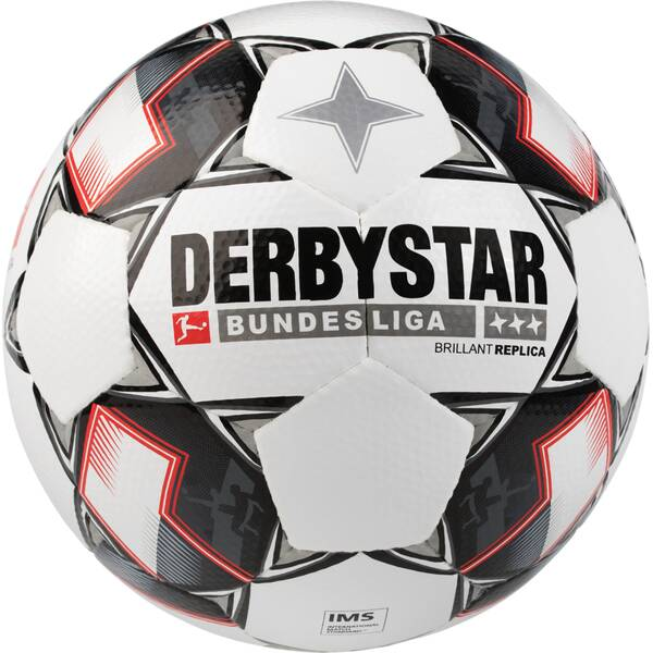 DERBYSTAR Freizeit-Fußball Replica Bundesliga 18 Brillant APS