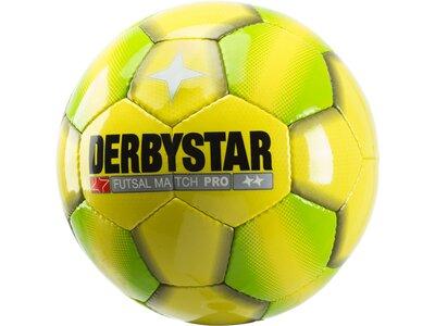 DERBYSTAR Fußball Match Pro Gelb