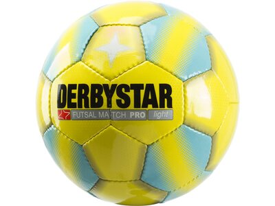 DERBYSTAR Fußball Match Pro Light Gelb