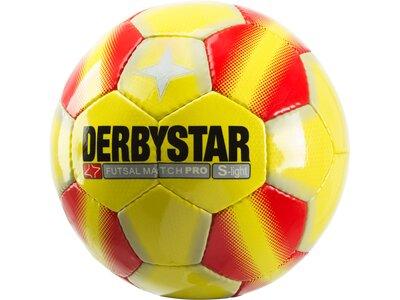 DERBYSTAR Ball Match Pro Super Light Gelb