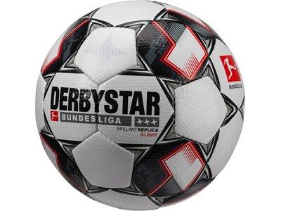 DERBYSTAR Fußball BL Brillant APS Replica S-Light Weiß