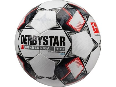 DERBYSTAR Fußball BL Brillant APS Replica Light Weiß