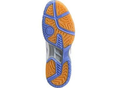 ASICS Damen Hallensportschuhe / Badminton-Schuhe Gel Flare 5 W Weiß