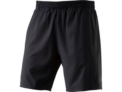 ASICS Damen Shorts SHORT WOVEN 9IN Schwarz
