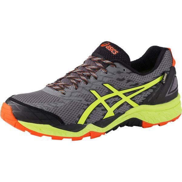 ASICS Herren Laufschuhe / Trail Running Schuhe Gel Fuji Trabuco 5 GTX schwarz