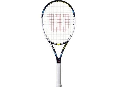 WILSON Herren Tennisschläger JUICE100 Blau