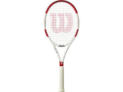WILSON Herren Tennisschläger SIX.ONE 95 L Rot