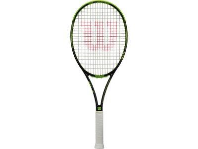 WILSON Herren Tennisschläger Blade 101 L Schwarz