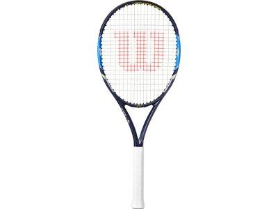 WILSON Herren Tennisschläger ULTRA 100 TNS RKT W/O CVR Blau