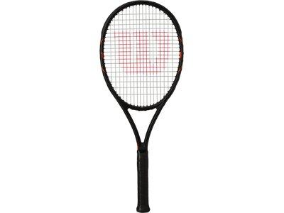 WILSON Herren Tennisschläger BURN FST 99 TNS RKT W/O CVR Schwarz