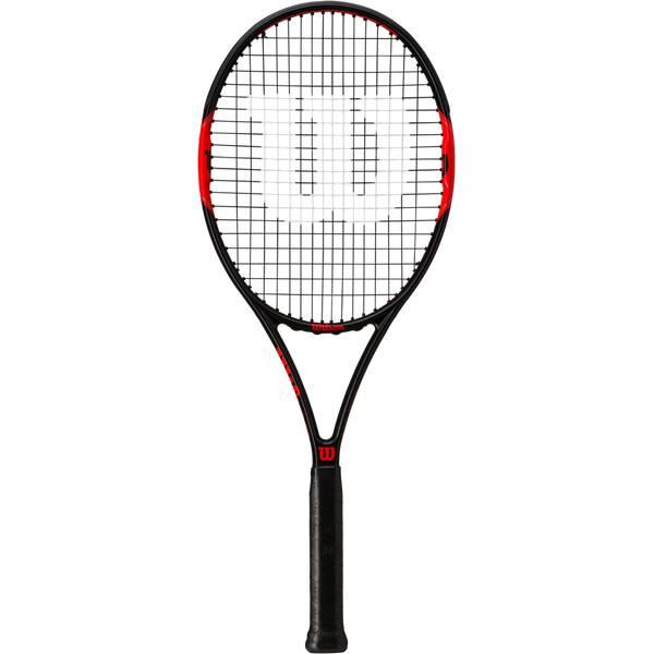 WILSON Herren Tennisschläger Federer Control 103 Schwarz