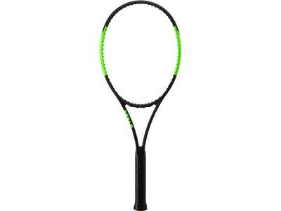 WILSON Herren Tennisschläger Blade 98L Schwarz