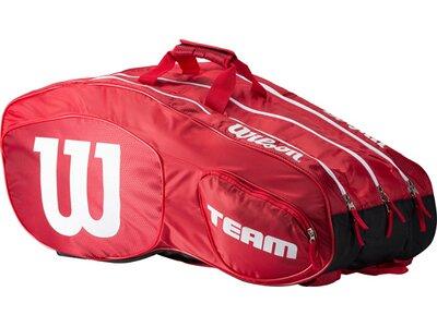 WILSON Tasche TEAM III 12 PACK Rot