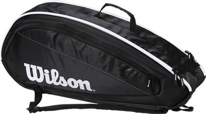 WILSON  Tasche FED TEAM 6 PACK BKWH