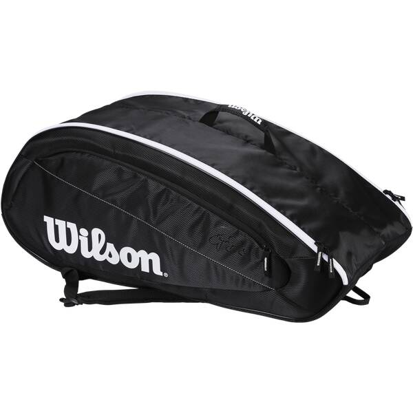 WILSON  Tasche FED TEAM 12 PACK BKWH