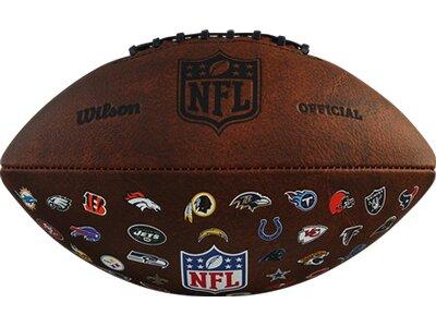 WILSON NFL OFF THROWBACK 32 TEAM LOGO Braun