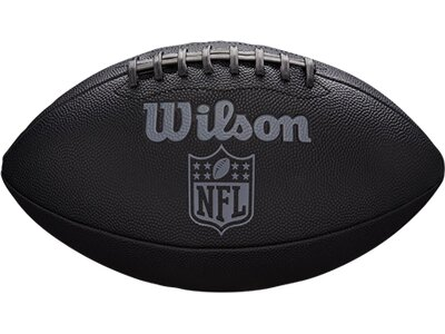 WILSON Ball NFL JET BLACK OFFICIAL SIZE FB Schwarz