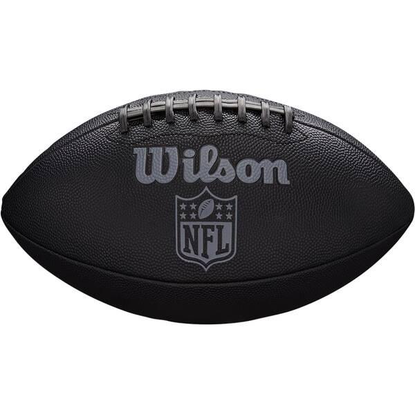 WILSON  Ball NFL JET BLACK OFFICIAL SIZE FB