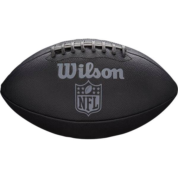 WILSON  Ball NFL JET BLACK OFFICIAL SIZE FB
