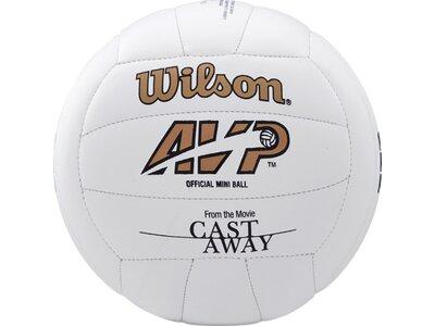 WILSON Ball CASTAWAY MINI DEFLATED Weiß