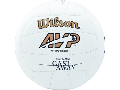 WILSON Ball CASTAWAY MINI DEFLATED Weiß