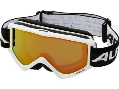 ALPINA Skibrille SMASH 2.0 Weiß