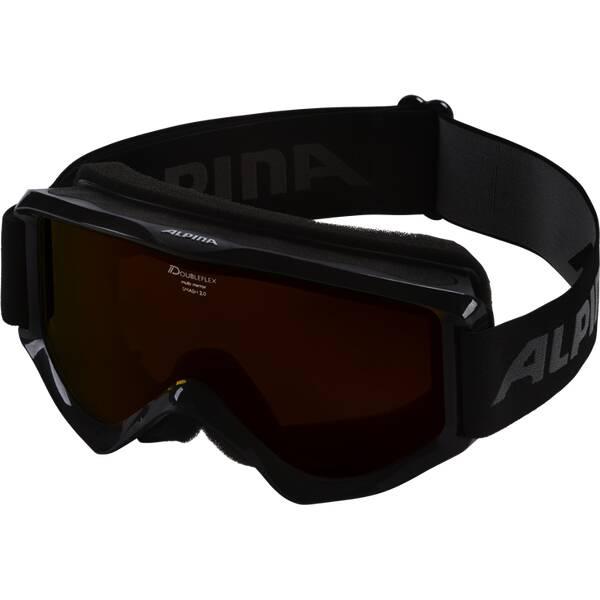ALPINA Skibrille SMASH 2.0 Schwarz