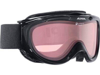 ALPINA Skibrille FREESPIRIT Schwarz