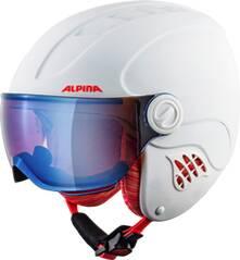 "ALPINA Ski- und Snowboardhelm ""Carat LE Visor HM Jun."""