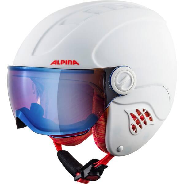 ALPINA Ski- und Snowboardhelm Carat LE Visor HM Jun.