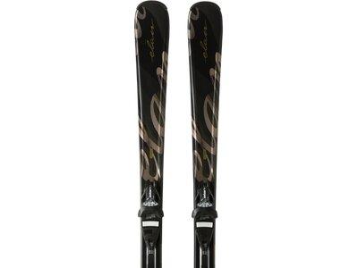 ELAN Damen All-Mountain Ski BLACK PERLA QT EL 7.5 Schwarz
