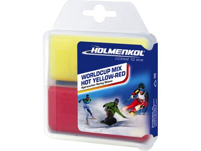 HOLMENKOL Worldcup Mix Hot yellow-red Weiß