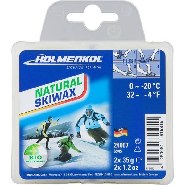 HOLMENKOL Unisex  Natural Skiwax 2x35 g