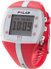 POLAR Multifunktionsuhr FT7F Red Silver