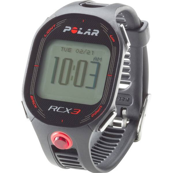 POLAR Multifunktionsuhr RCX3M RUN Black