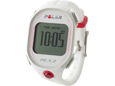 POLAR GPS Multifunktionsuhr RCX3F WHITE Weiß