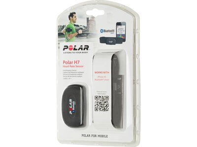 POLAR Brustgurt H7 WearLink Sender-Set M-XXL Schwarz