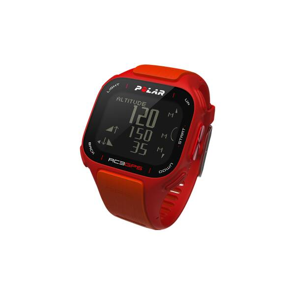 POLAR GPS Multifunktionsuhr RC3 GPS HR Orange Red