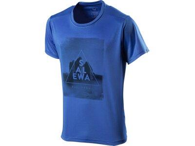SALEWA Herren Shirt Comabbio Dry Blau
