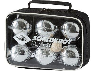 SCHILDKRÖT Boule-Set Silber