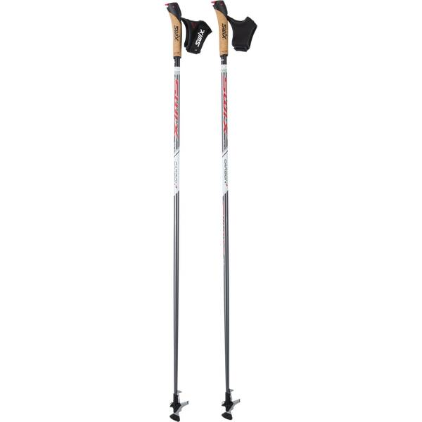 SWIX Nordic Walkingstöcke Carbon+ Schwarz