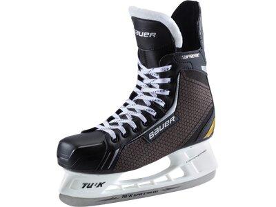 BAUER Kinder Eishockeyschuhe Eish-Complet Supreme Elite Jr. SMU Schwarz