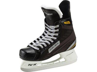 BAUER Herren Eishockeyschuhe Supreme Pro Sr. Schwarz