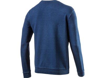 CHAMPION Herren Sweatshirt CREWNECK Blau