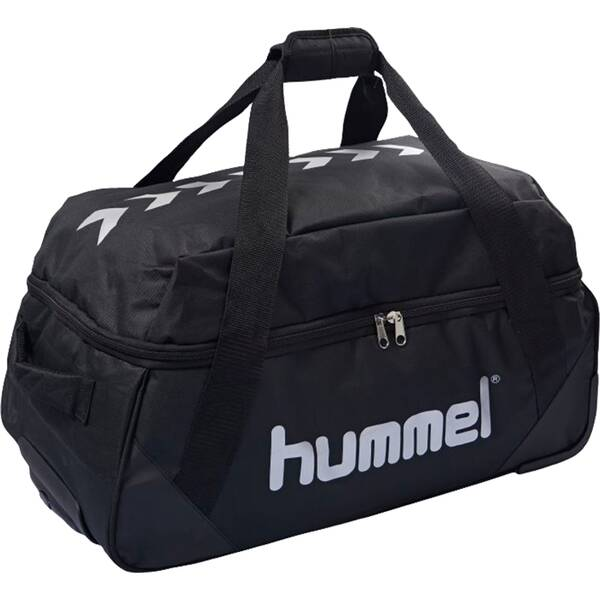 HUMMEL Trolley AUTHENTIC CHARGE | Taschen > Koffer & Trolleys > Trolleys | Schwarz - Weiß | Hummel